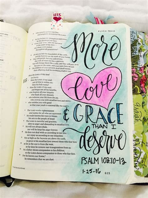 239 best images about bible journaling psalms on psalm 103 10 13 more love than i deserve bible journaling
