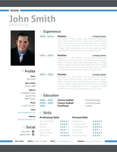 Contemporary Resume Templates Word by Contemporary Resume Template Modern Word Resume Templates