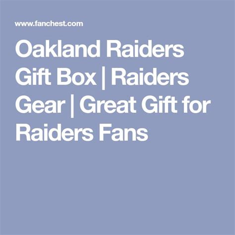 gifts for raiders fans best 25 oakland raiders fans ideas on oakland