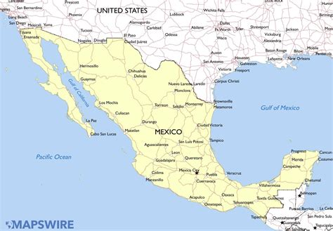 map if mexico mexico the indefinite journey