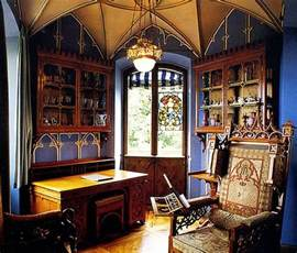 gothic interiors eye for design decorating in the gothic revival style