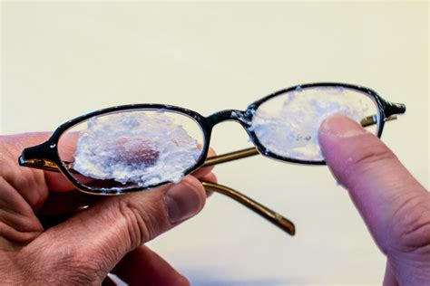 how to remove scratches from eyeglasses livestrong