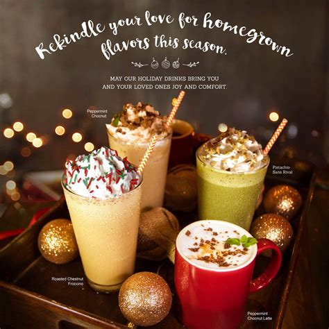Where you can get a 'Peppermint Chocnut Latte' and 24 amazing PH holiday drinks