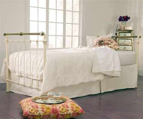 shabby chic daybed bedding iron brass sleigh daybed antique white shabby chic