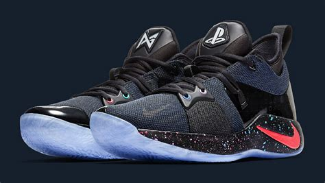 ps4 jordan themes playstation x nike pg2 release date at7815 002 sole