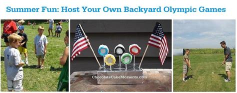 Backyard Olympic by Summer Host A Backyard Olympic It Forward