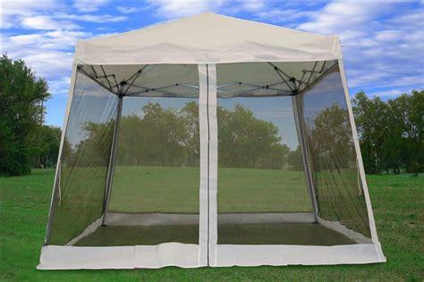 8 X 10 Gazebo With Netting 8 X8 10 X10 Pop Up Canopy Tent Gazebo Ez W Net