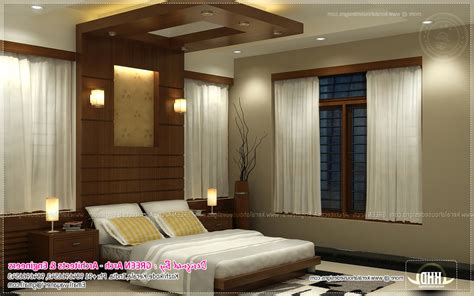 beautiful houses bedroom interior in kerala home combo