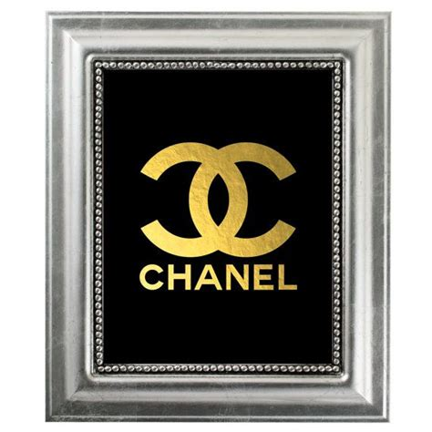 printable typography coco chanel quote gold foil gold lips 1000 images about chanel frame on pinterest