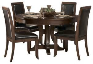 48 Inch Round Table Homelegance Avalon 54 Inch Round Pedestal Dining Table In