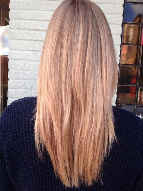 rose gold blonde hair color rose gold hair color hairstyle gallery