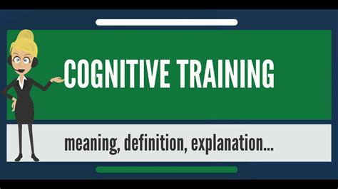 tutorial video meaning what is cognitive training what does cognitive training