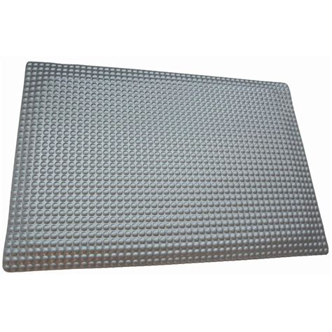 rhino anti fatigue mats reflex glossy platinum raised