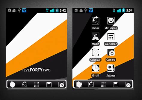 bbt app for android 40 free artsy minimalist themes for android 2 x 171 android appstorm