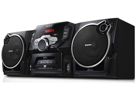 sony mini stereo system with region free world wide dvd