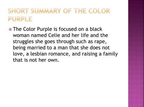 the color purple book summary summary of the color purple coloring pages
