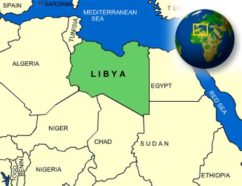 libya map in world map of libya terrain area and outline maps of libya