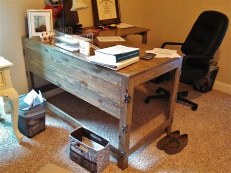 Reclaimed Wood Desks Home Office by Industrial Rustic Fusion Reclaimed Wood Desk Industrial