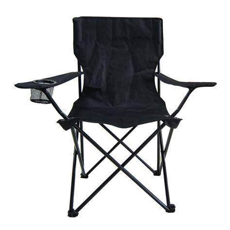 shop garden treasures indooroutdoor steel camping folding chair  lowescom