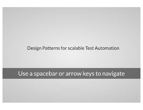 design pattern quiz questions design patterns for scalable test automation with selenium