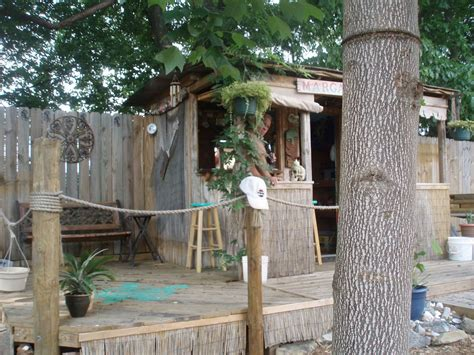 Shed Tiki Bar hometalk garden shed turned tiki bar