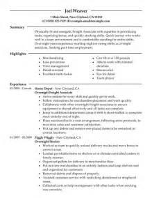 warehouse stocker resume sle stock resume resume cv cover letter