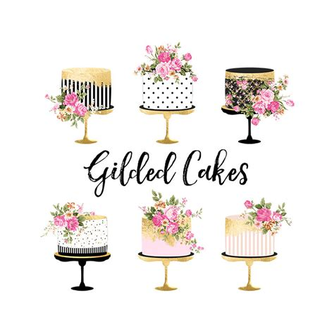 hochzeitstorte clipart gold clipart birthday cake pencil and in color gold