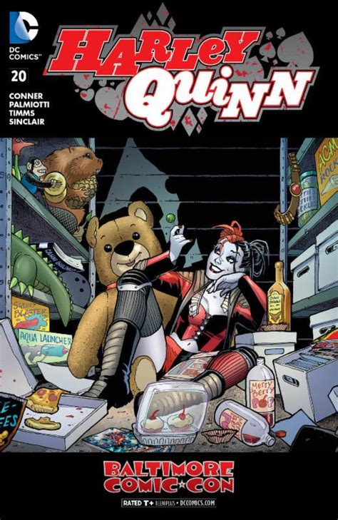libro harley quinns cover gallery harley quinn 20 baltimore comic con variant amanda conner comic book speculation and investing