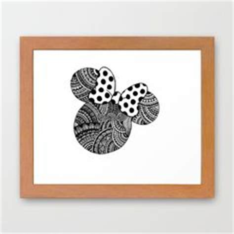 pattern work mandala minnie mouse head by joanne this is a print of an original zentangle drawing of mickey