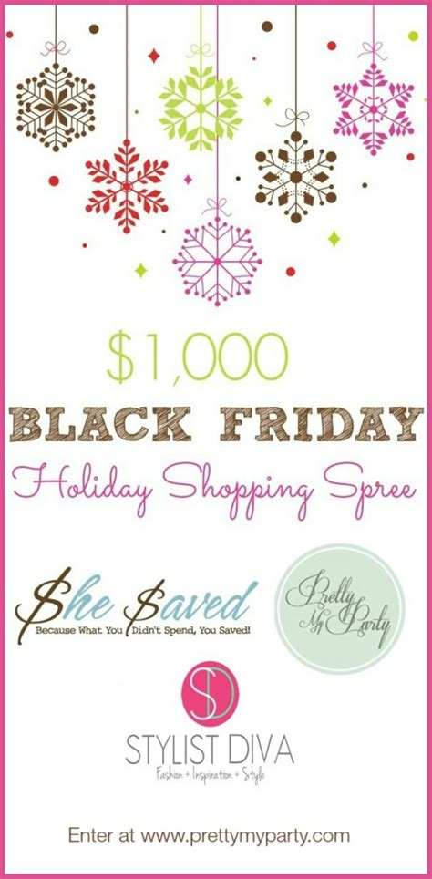 Black Friday Online Giveaways - black friday 1 000 shopping spree giveaway stretching a buck stretching a buck