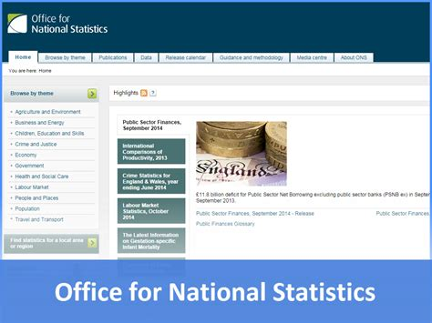 Office For National Statistics by Links Www Businessed Co Uk