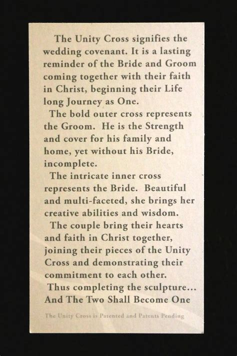 Wedding Ceremony Meaning 25 Best Ideas About Wedding Unity Cross On