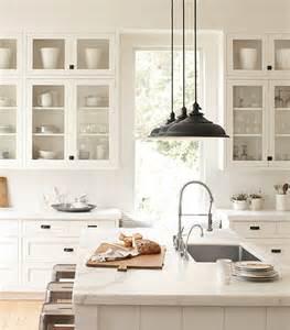Milk Glass Pendant Light 20 Farmhouse Kitchens For Fixer Upper Style Industrial Flare