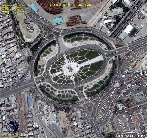 imagenes satelitales quickbird gratis quickbird satellite image azadi tower iran satellite