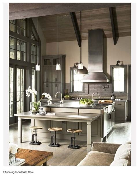 30 cool industrial design kitchens home