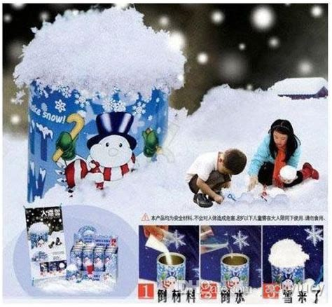 how to make a cheap snow blancket cheap diy instant artificial snow powder simulation snow for decoration 1