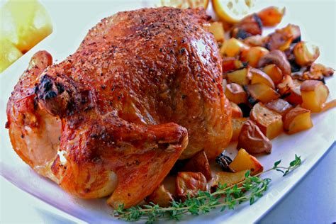 roast chicken recipe dishmaps