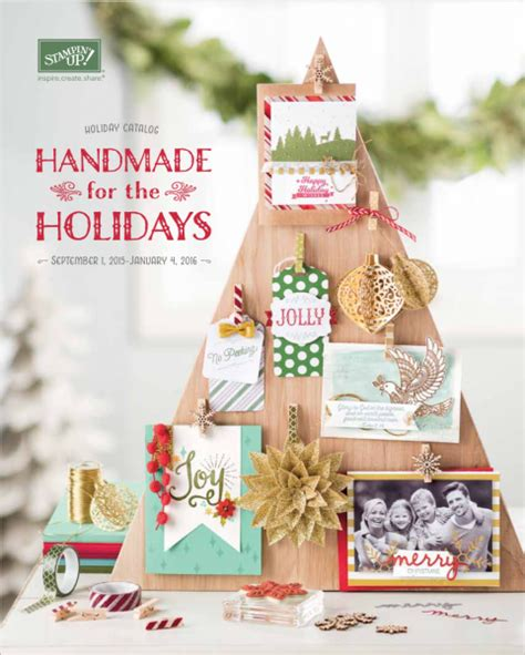 christmas ideas catalogues stin up catalog is now live