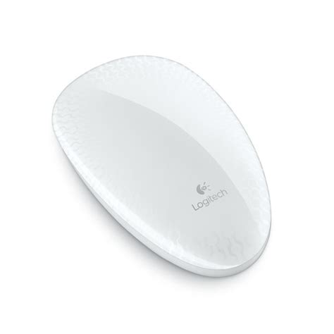 Logitech Wireless T620 Touch Mouse logitech touch mouse t620 blanc souris pc logitech sur