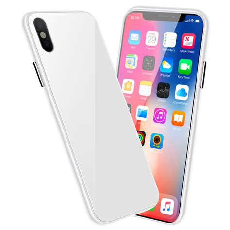 magnetic phone for iphone x xs white