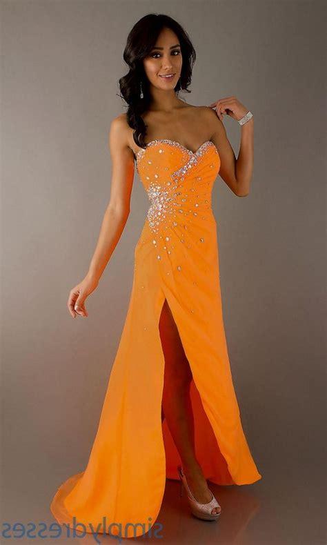 Dress Wanita Orange best 25 orange prom dresses ideas on prom