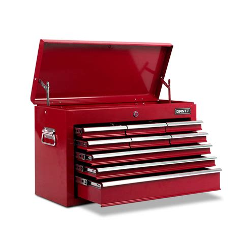 red tool box dresser 9 drawers tool box chest red hot deals australia