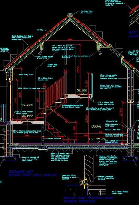 section dwg house section cad library autocad blocks autocad