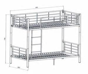 bunk bed dimensions sketch coloring page