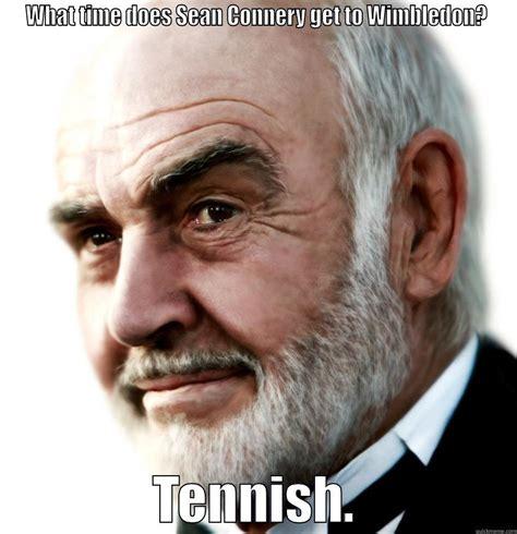 Sean Connery Mustache Meme - wimbledon tennish quickmeme