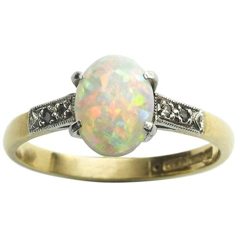 1920s opal gold ring at 1stdibs