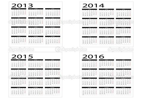 printable calendar 2014 to 2015 8 best images of 3 year calendar 2013 2014 2015 printable