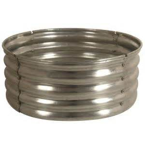 30 in galvanized round fire pit ring ds 18727 the home depot