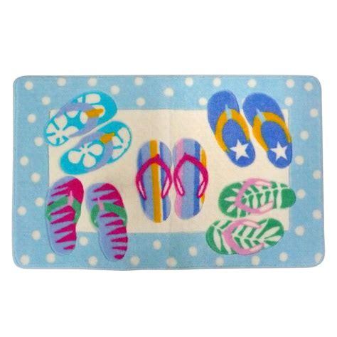 flip flop rug flip flop bath rug