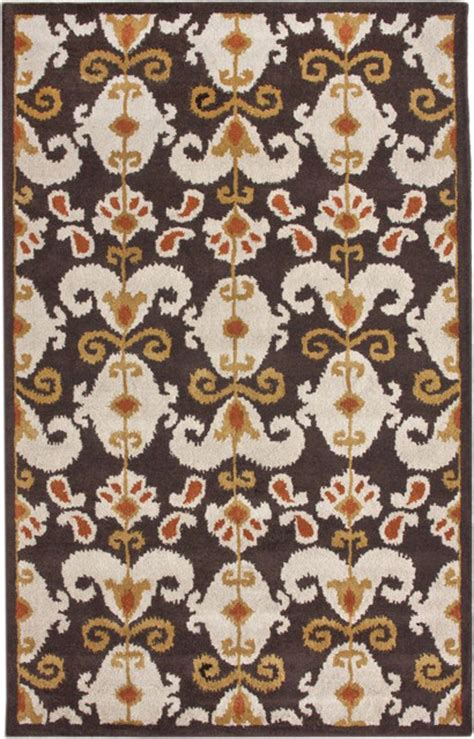 cenon ikat black rug mediterranean rugs by rugs usa